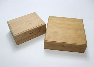 Custom Logo Wooden Crate Gift Box Small Packaging Square Wooden
