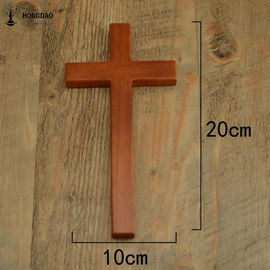 OEM Design Small Size Handheld Handcrafted Wooden Crosses Painted For Crafts