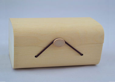 Storage Balsa Wood Box Customized Tree Bark Box Cylindrical For Christmas