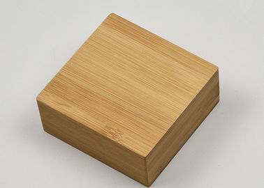 Customized Bamboo Gift Box Small Wood Packing Organizer Case OEM Service